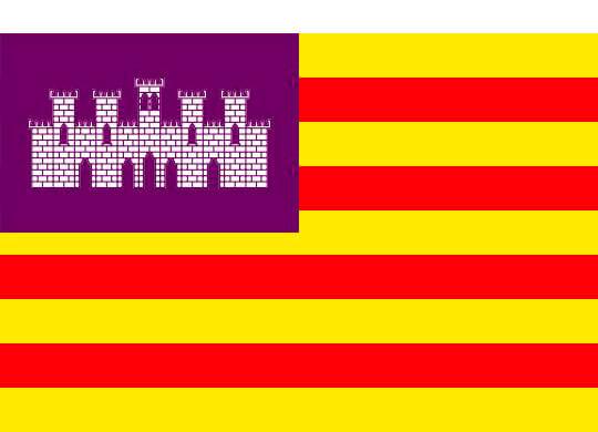 Las peculiaridades de las banderas de Islas Baleares