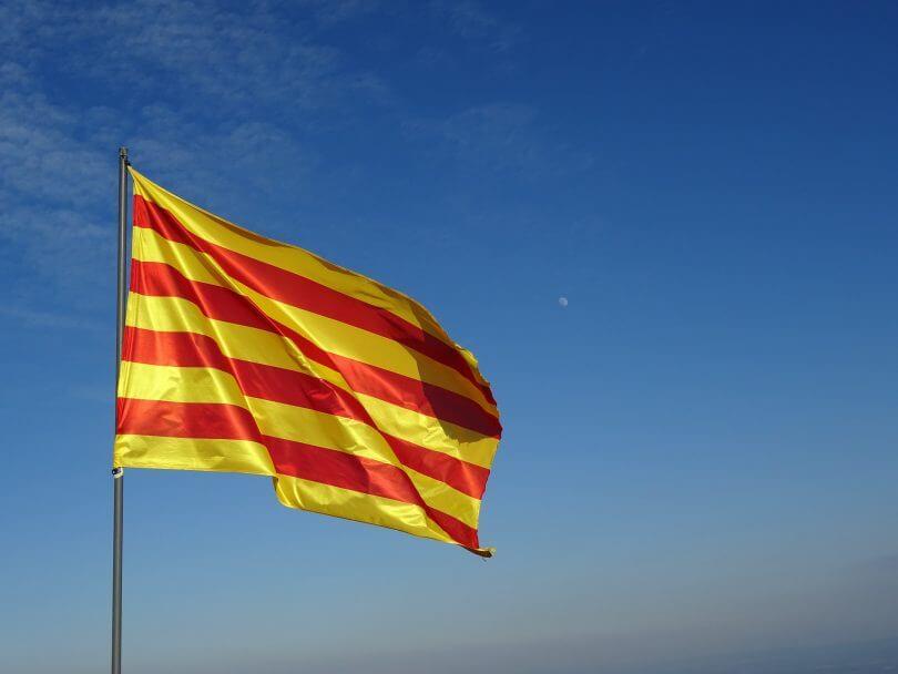 El origen de la bandera de Cataluña