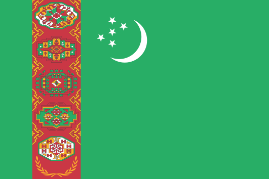 bandera-turkmenistán