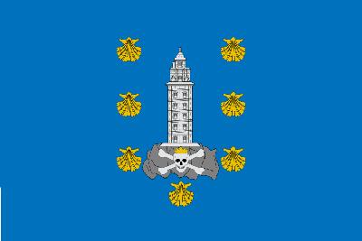 bandera A Coruña