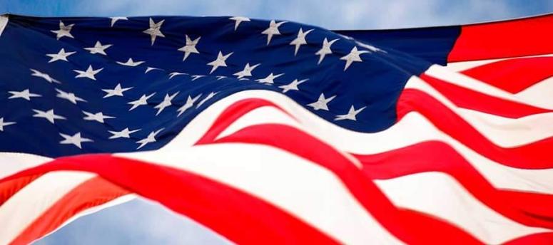 La bandera de Estados Unidos, el símbolo del orgullo americano