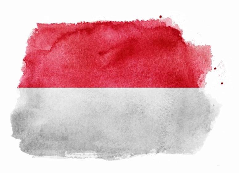 bandera roja y blanca
